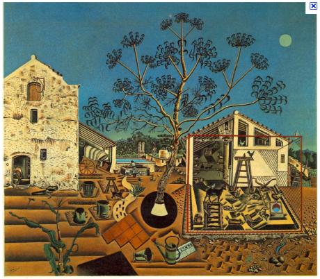 Joan Miró La Masía Pintura Museo Barcelona