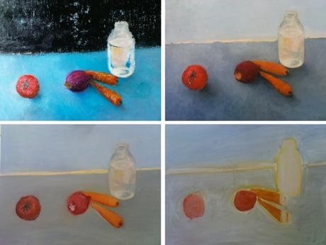 naturaleza muerta pintura arte
